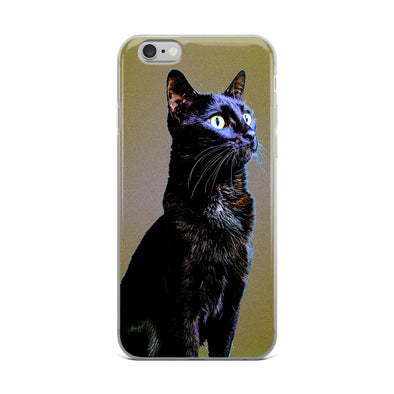 Gold Leaf Gato iPhone Case