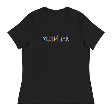 Museician Women's Relaxed T-Shirt