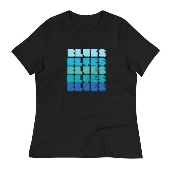 Blues Magic Women's Relaxed T-Shirt