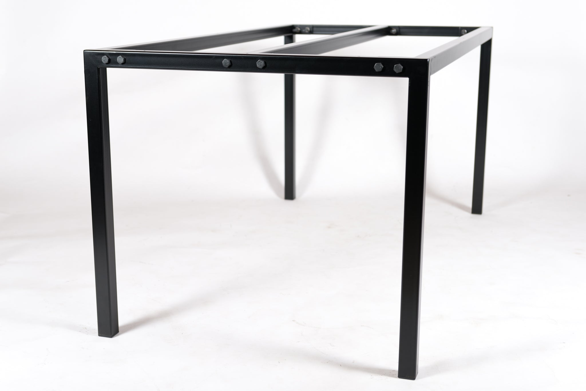 FINN - Metal Table Base. Suitable For Stone, Glass & Wood