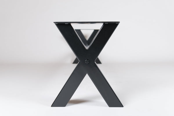 The 'XX' Junior - X Shape Bench Base - Seating Bench