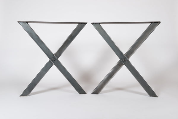 XANDER. X Shape - Table Legs (Pair)