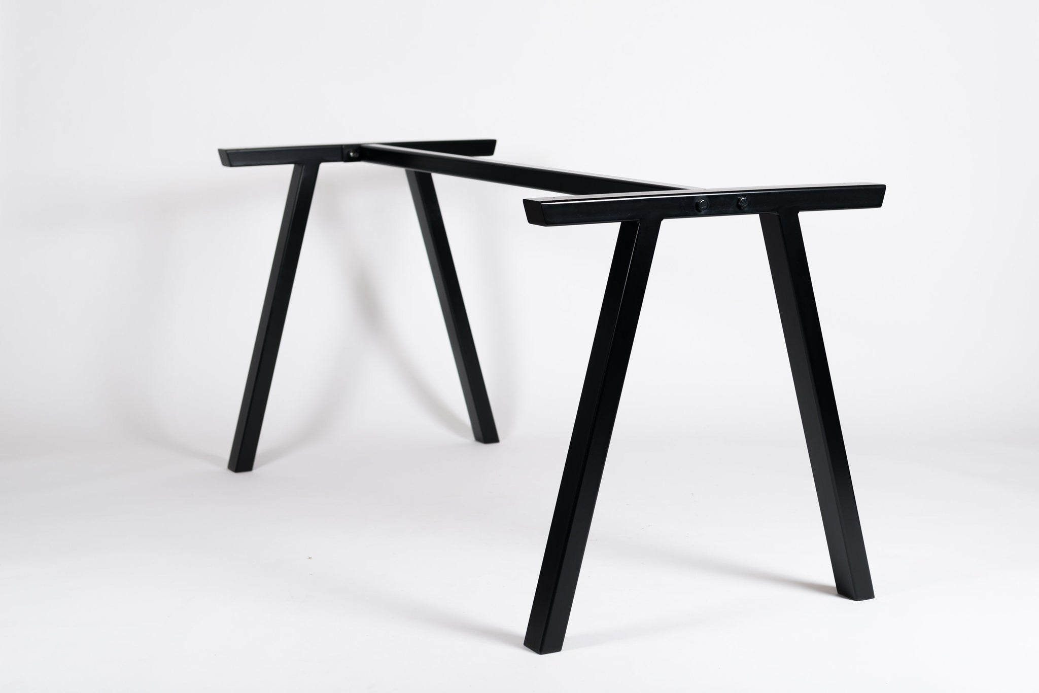 VENICE. - Metal Table Base. For Stone, Glass and Wood