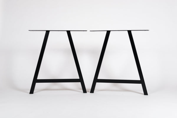A shape metal table legs