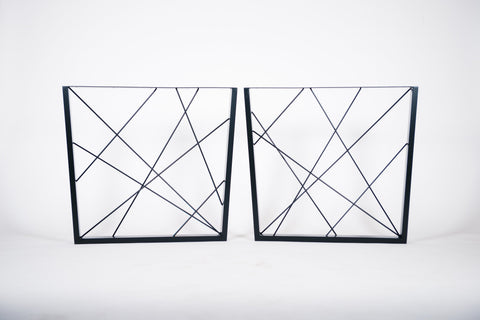 GEO. Reverse Trapezium - Table Legs  (PAIR)