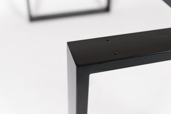 PESSI. Rectangular Shape - Table Base. Suitable for Glass and Wood