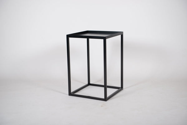 ALFIE - Side Table, End Table, Lamp Table, Occasional Table With Inlay Tray