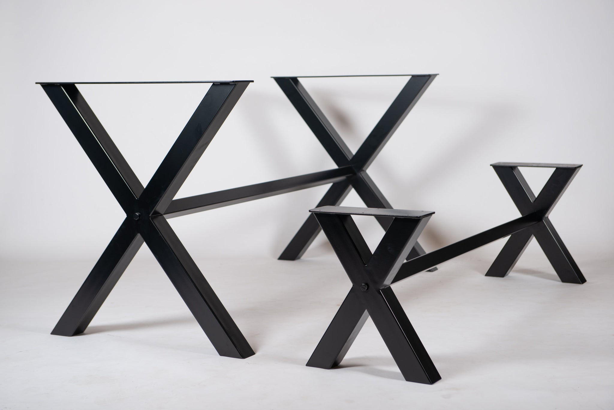 The 'XX' - Dining Table Base and Bench Base (SET/BUNDLE)