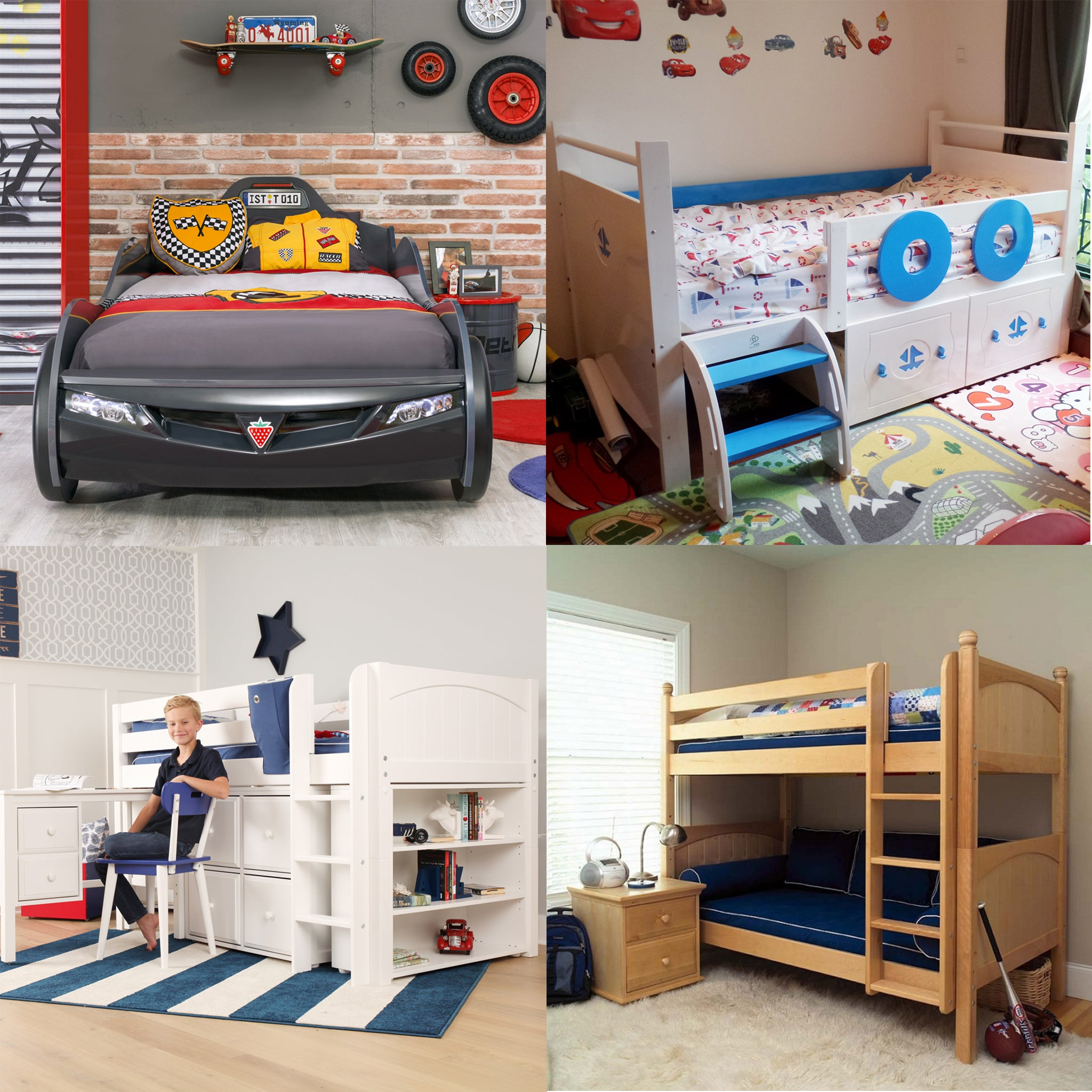 Picture of: Shop All Car Beds Fire Engine Pirate Beds From As Low As 300