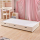HB Rooms Standalone Pullout Trundle with 3 Drawers