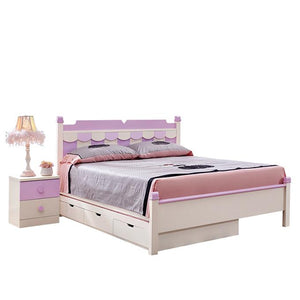 HB Rooms Carousel Queen Bed (#8912) (Smaller size available)
