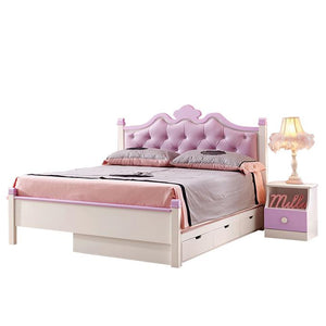 HB Rooms Carousel Royal Queen Bed (#8922) (Smaller size available)