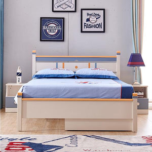 HB Rooms San Jose Queen Bed (#8915) (Smaller size available)