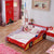 HB Rooms Grand Prix Flat Car Bed (Red or Blue) (Single or Double)