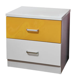 HB Rooms Grand Prix Bedside Table (Red, Blue or Yellow)