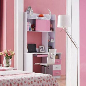 HB Rooms Pink Pastures Study Table (#8101B)