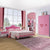 HB Rooms Pink Pastures Bedroom Set (#8101B)