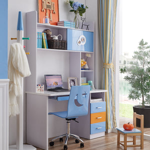 HB Rooms Vignette Study Table (#8106)