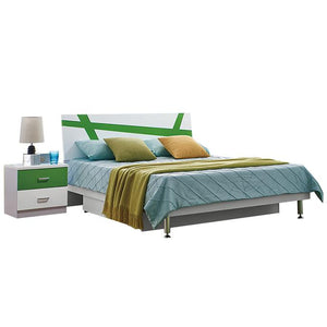 HB Rooms Foilage Queen Bed (#8110) (Smaller size available)