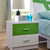 HB Rooms Foilage Bedside Table (#8110)