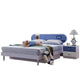 HB Rooms Dribble Queen Bed (#8118) (Smaller size available)