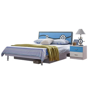 HB Rooms Cruise Queen Bed (#8119) (Smaller size available)