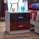 HB Rooms Barcelona Bedside Table (#8350-1)