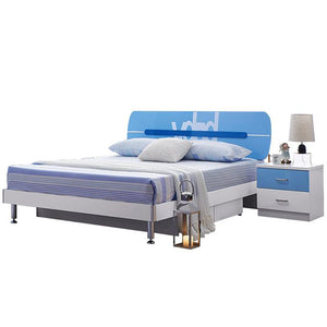 HB Rooms Ocean Queen Bed (#8862) (Smaller size available)