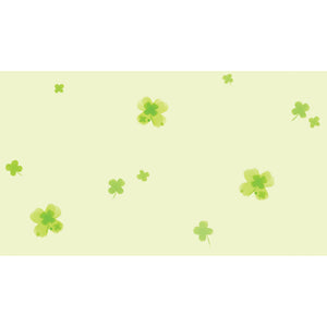 Cherry Blossoms on Green Wallpaper