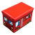 WAGEN Fire Engine Storage Stool (B01)