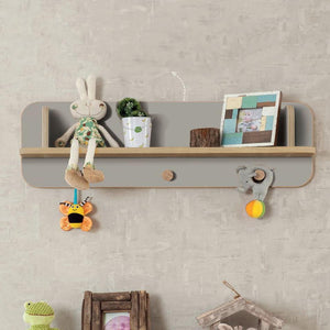 Cilek Baby Grey Hanger Shelf