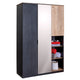 Cilek Black 3 Door Wardrobe