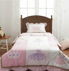 Joey's Ballerina Applique Bedsheet Set