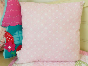 Snuggle Birdie Square Cushion