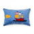 Snuggle Blue Pirate Cushion