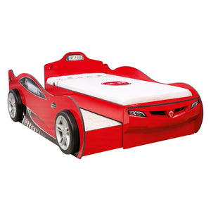 Cilek Coupe Carbed (With Friend Bed) (Red) (90X190 - 90X180 Cm)