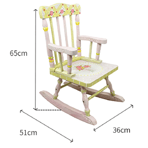 Fantasy Fields Classic Rose Rocking Chair