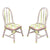 Fantasy Fields Classic Rose Set of 2 Chairs