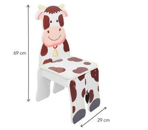 Fantasy Fields Cow Chair