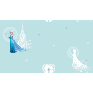 Elsa & the Snow Castle Wallpaper