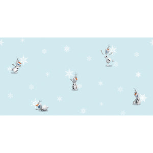 Olaf's World (or Snow Flakes) Wallpaper