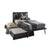 Cilek Dark Metal Bed (L-100X200 Cm)