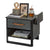 Cilek Dark Metal Nightstand