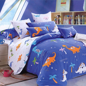 Joey's Dino World Bedsheet Set