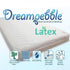 "Dreampebble 5.5"" 100% Latex Mattress"