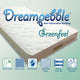 "Dreampebble 4"" GreenFeel (Latex Topper) Mattress"