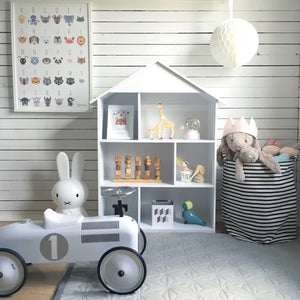 FIJN House Bookshelf (White or Grey)