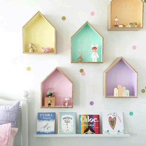 FIJN House Wall Rack (3 Sizes / White or Pink)