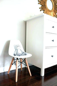 FIJN White CrissCross Play Table & Matching Play Chairs