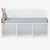 FIJN White Star Bench with Storage Compartments